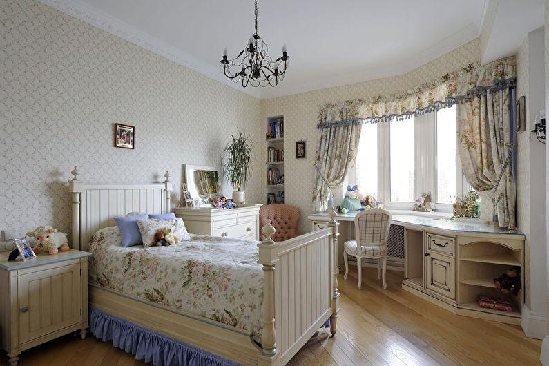 Комната для девочки-подростка в стиле прованс - Дизайн интерьера