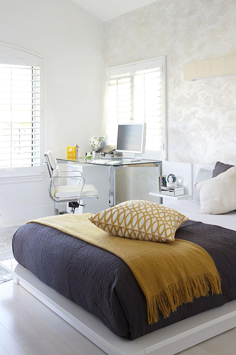 Комната для девочки-подростка в стиле минимализм - Дизайн интерьера
