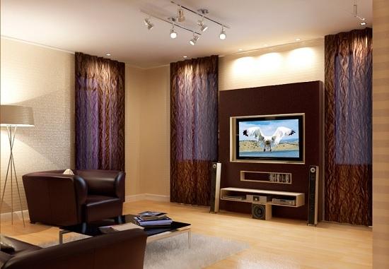 Светильники для квартиры студии