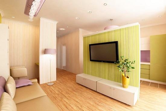 Расстановка мебели в студии