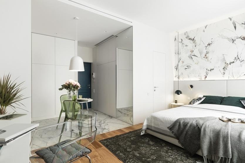 Дизайн квартиры-студии 30 кв. м: от планировки до декора + 20 удачных проектов