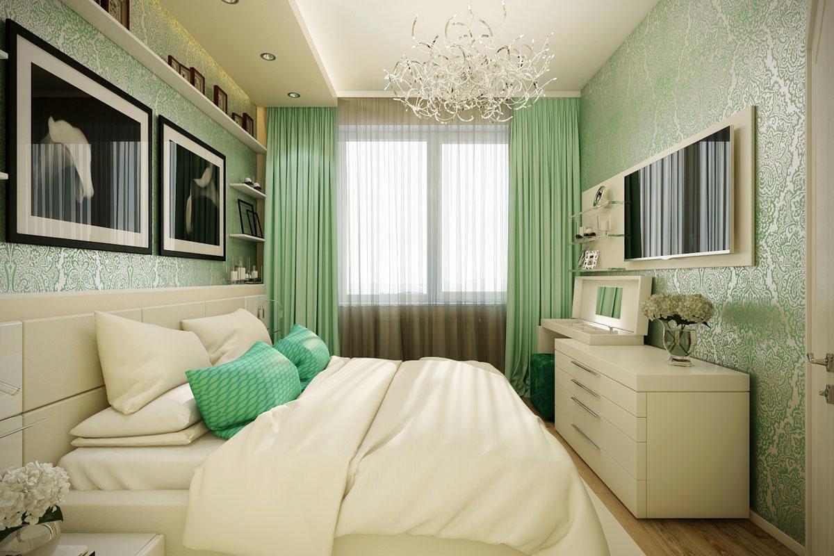 Маленькая спальня красивый дизайн