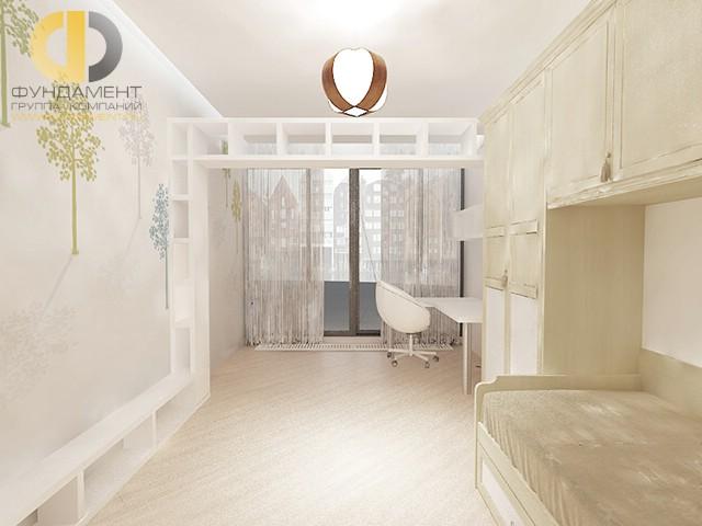 Дизайн детской комнаты для девочки. Фото интерьера в светлых тонах