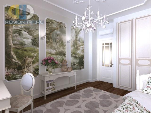 Спальня для девочки-подростка в классическом стиле