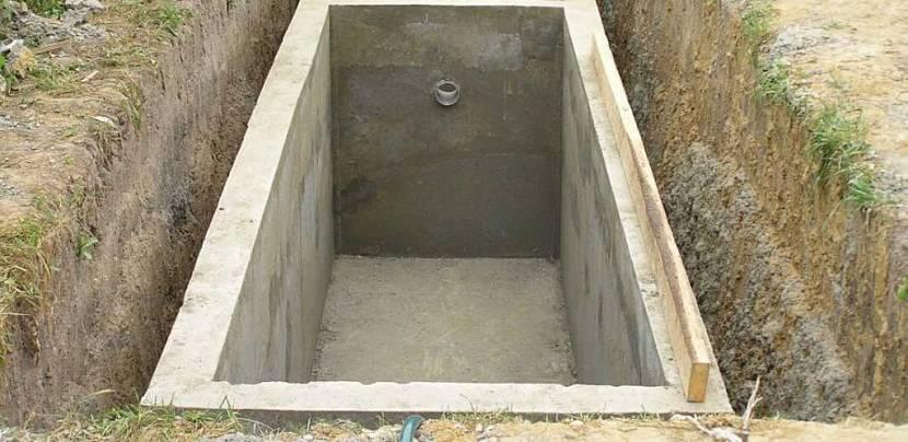 яма для туалета на даче