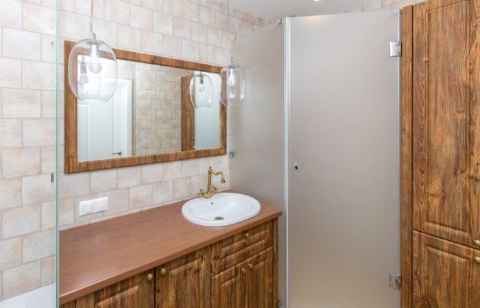 Плитка для ванной комнаты в античном стиле