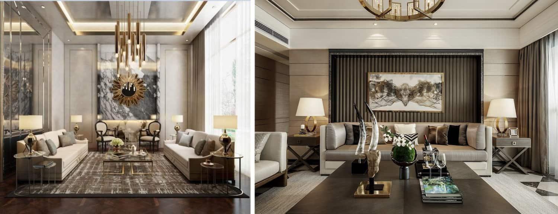 Пример оформления гостиной 2021 для тех, кто имеет взыскательный вкус