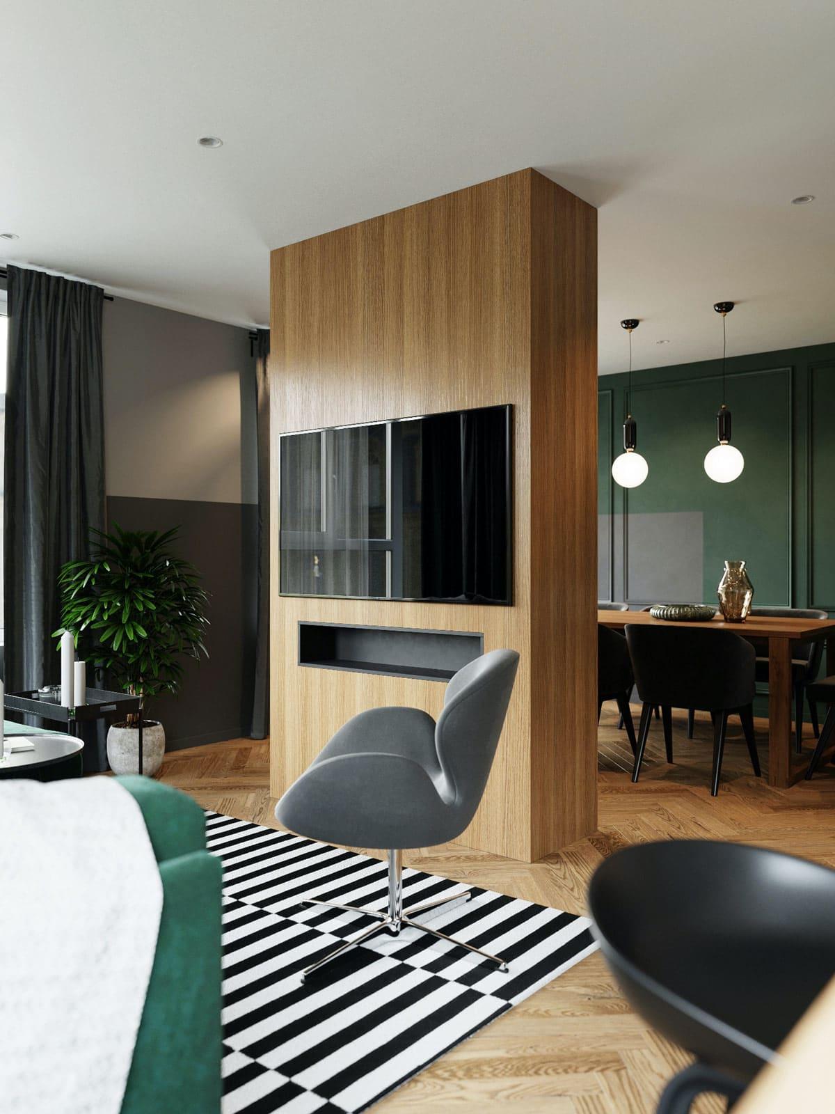 модный дизайн гостиной фото 11