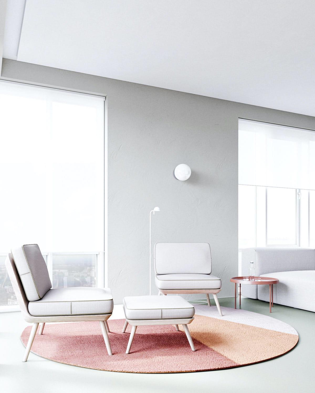 модный дизайн гостиной фото 17
