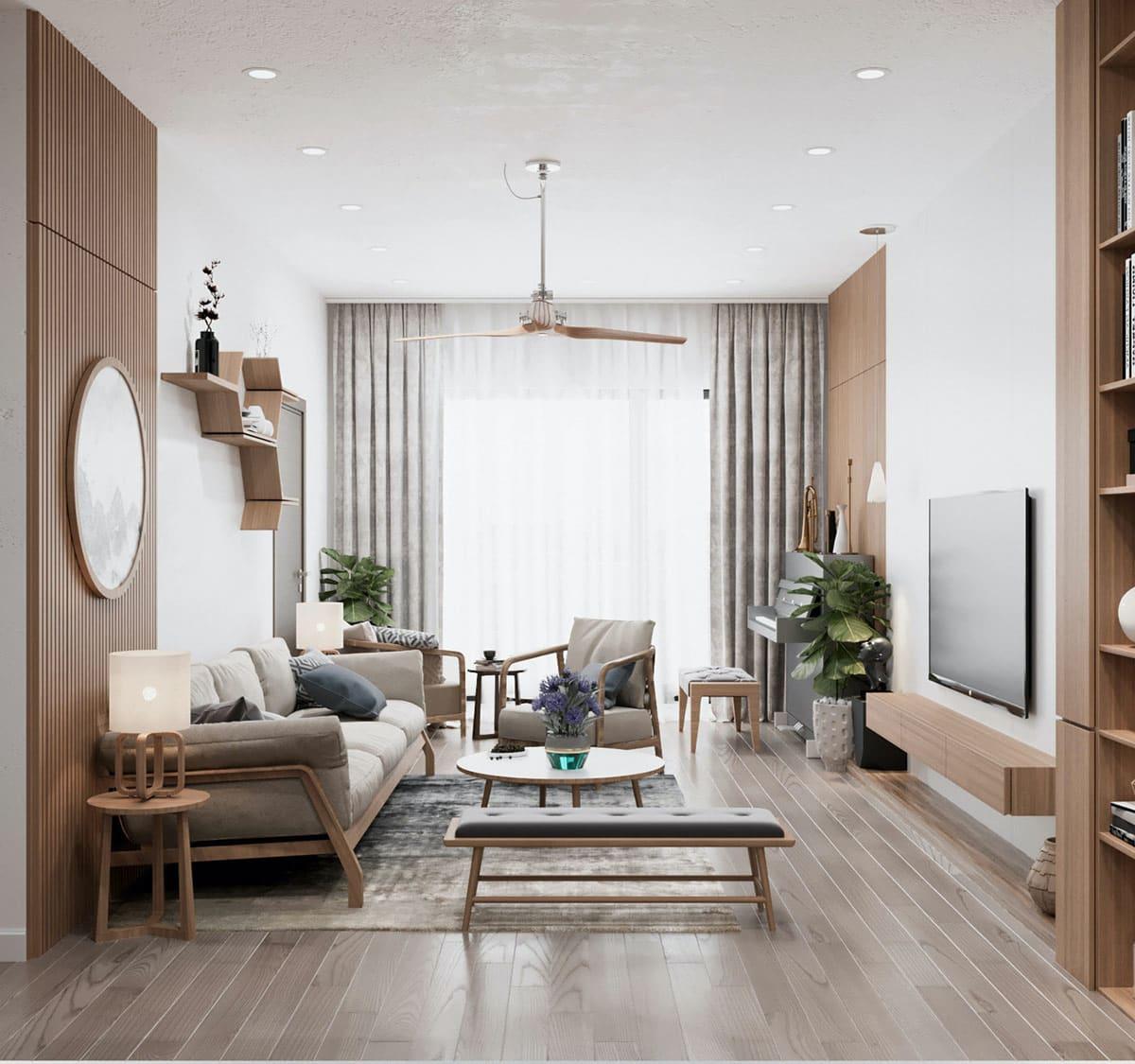 модный дизайн гостиной фото 18