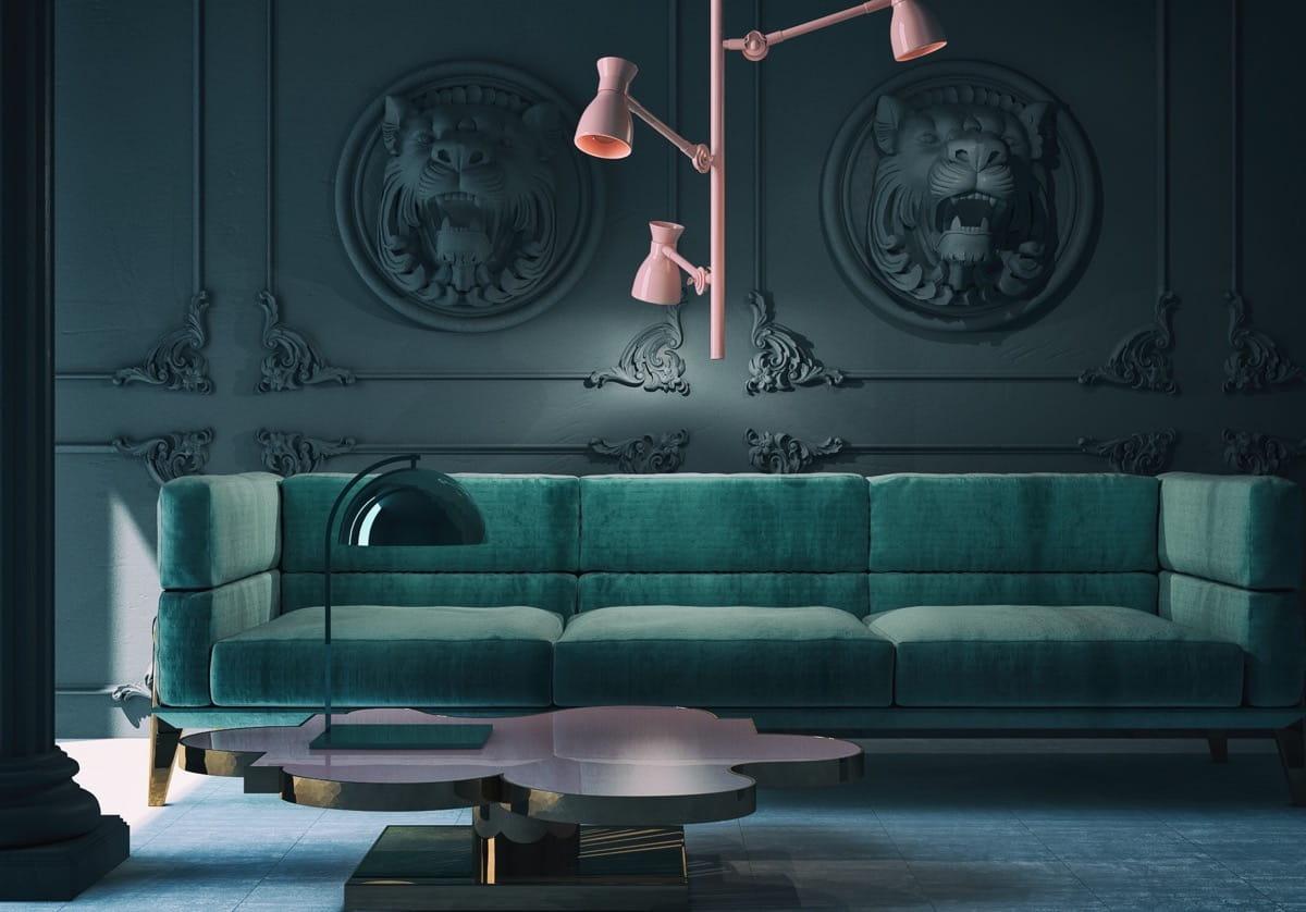 модный дизайн гостиной фото 15