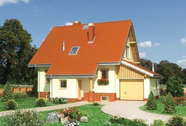 Проект Дома С Гаражом И Подвалом