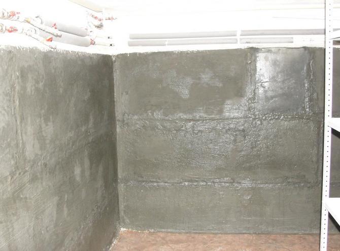 Подвал после ремонта