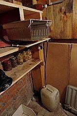 Устройство охладителя в погребе