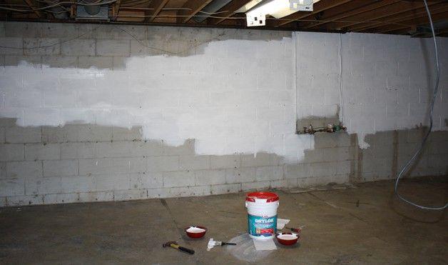 Использование акриловых красок в подвальном помещении