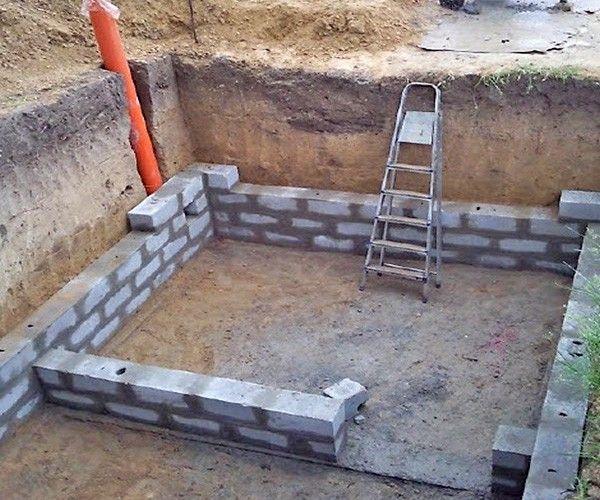 Технология строительства погреба