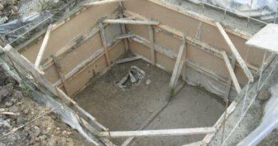погреб из монолитных плит