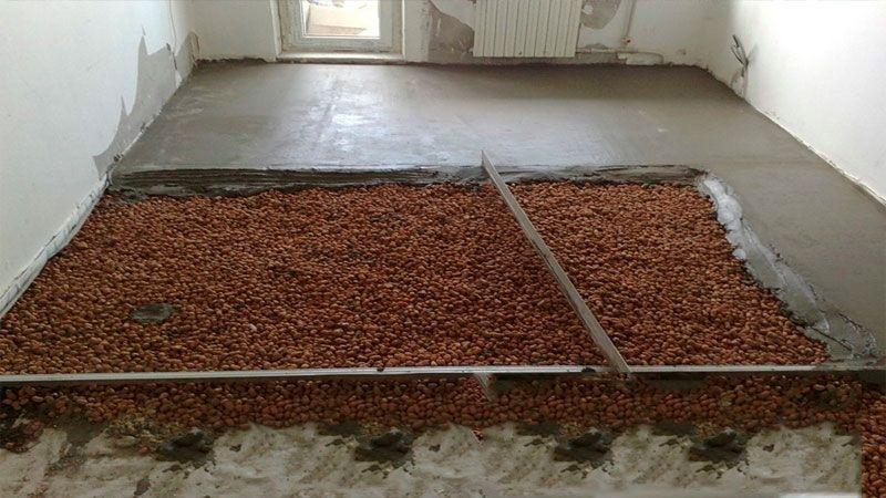 Керамзитный пол: вариант для квартиры на первом этаже или частного дома с подвалом