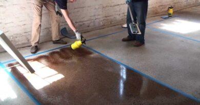 Чем лучше покрыть бетонный пол
