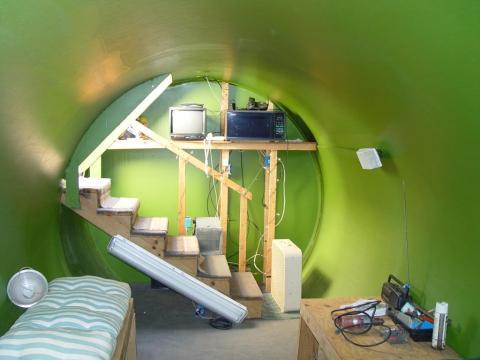 Убежище в подвале