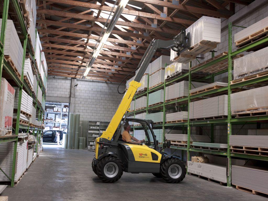 Хранение и перемещение грузов в паллетах