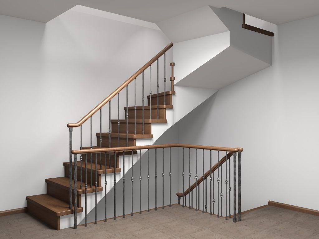 Маршевая лестница – самая удобная