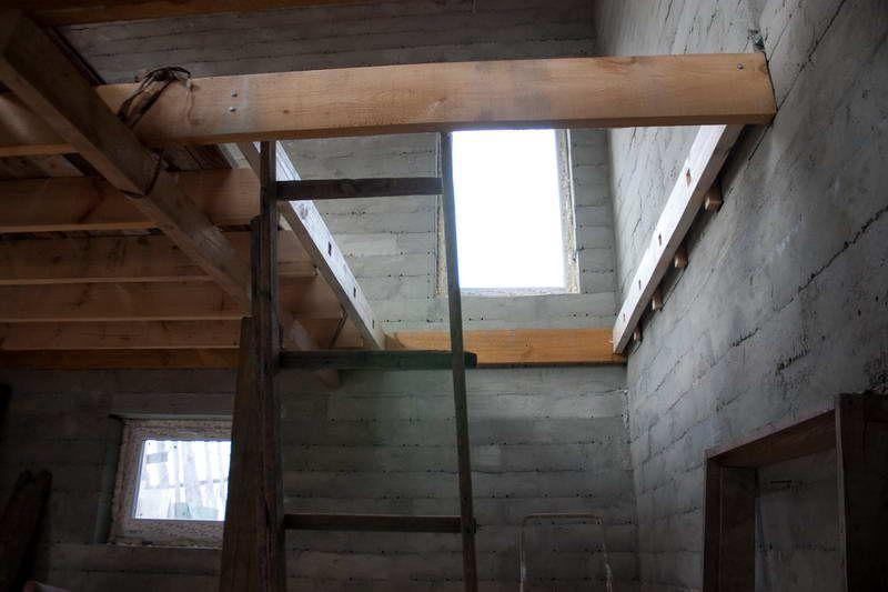 Балочное перекрытие: лестница на цокольный этаж своими руками