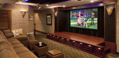 Кинотеатр в цокольном этаже