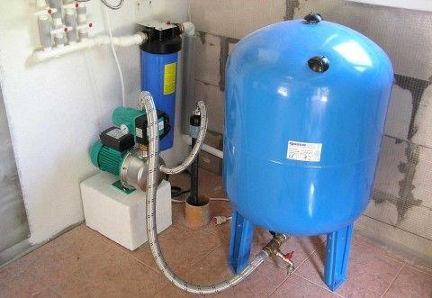 Организация автономного водоснабжения из мини-скважины в доме