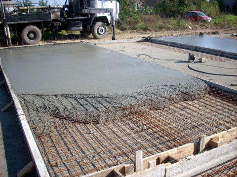 Устройство фундаментной плиты цокольного этажа: бетонирование плитного фундамента