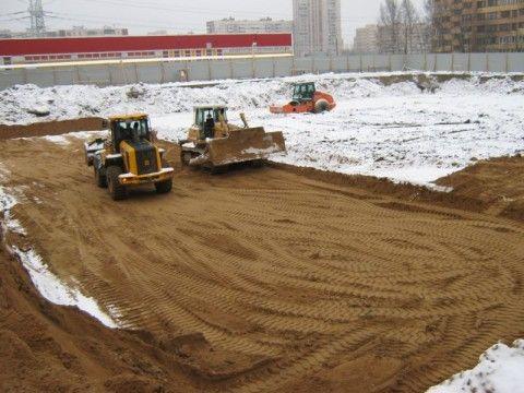 Выполнение песчаной подготовки