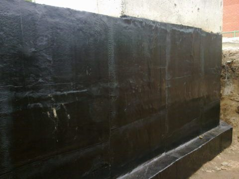 Гидроизоляция наружных стен