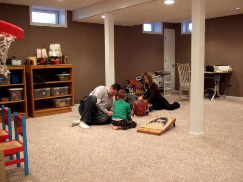 Комната отдыха для всей семьи