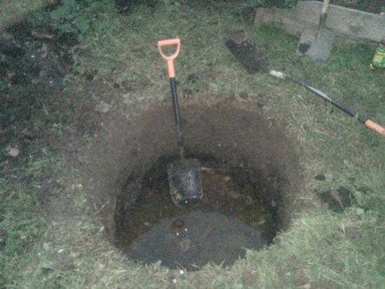 определить уровень грунтовых вод