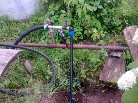 Подключение системы водоснабжения дома к летнему водопроводу в садовом товариществе