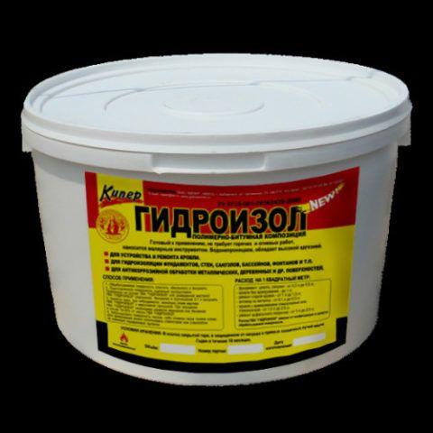 Полимерно-битумная мастика
