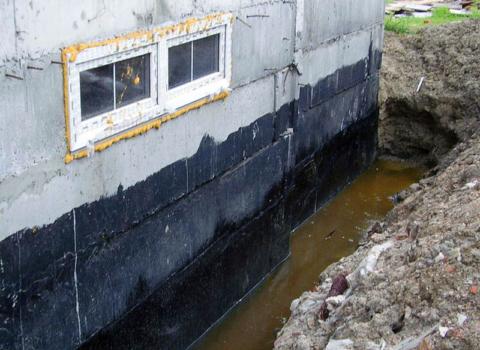Цокольный этаж при высоком уровне грунтовых вод