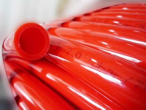 16-миллиметровая труба PERT для теплого пола