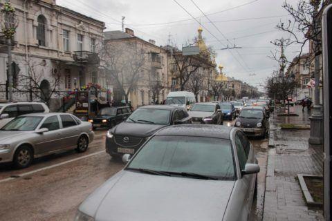 На фото — январь в Севастополе