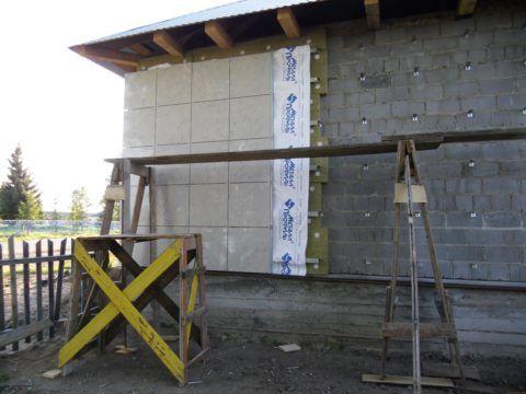 Утепление фасада может многократно сократить потери тепла