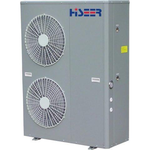 Воздушный тепловой насос-моноблок