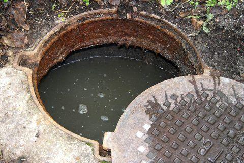 Засор дворовой канализации
