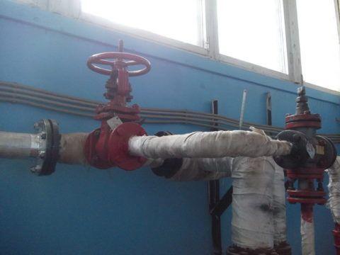 Горячее водоснабжение включено с подачи