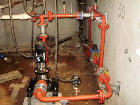 Насос подкачки водоснабжения