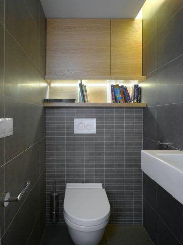 Туалет не имеет собственных отопительных приборов и обогревается только приточным воздухом