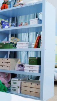 Выделение уголка для занятий в детской