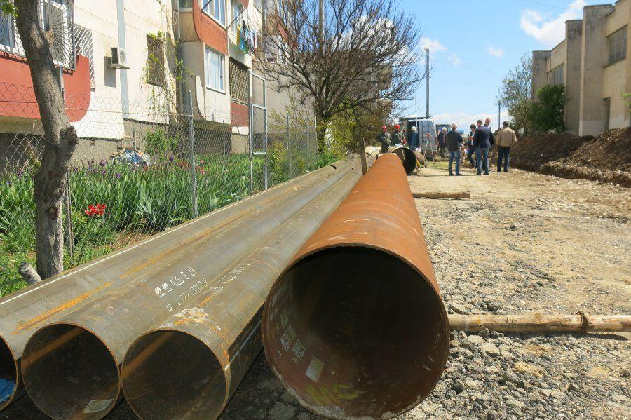 Плановый ремонт водосети в Севастополе