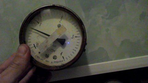 Контрольный замер давления воды в квартире