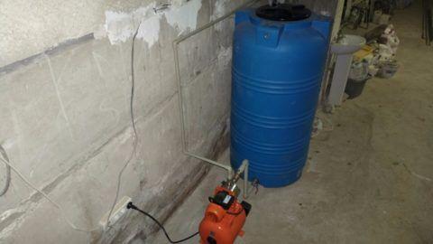 Система резервного водоснабжения в доме автора статьи
