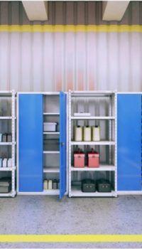 Удобное размещение оборудования в гараже